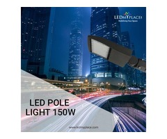 Make Streets More Beautiful By Installing 150W LED Pole Lights