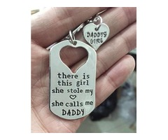 Daddy Daughter Necklace