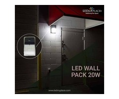 Radiation Free 20w LED Wall Pack Lights Are Safe For the Family