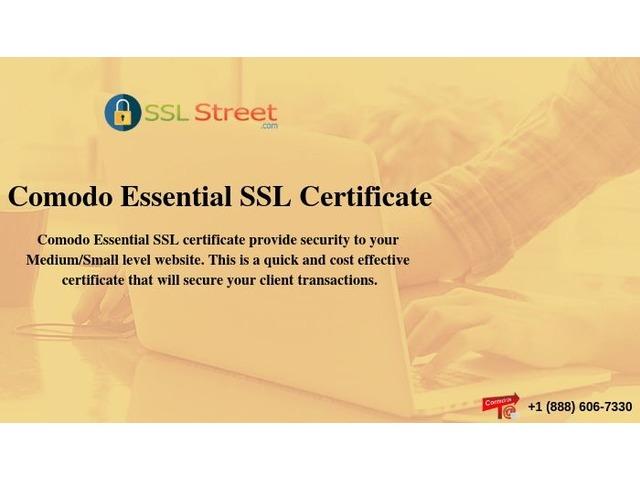 Comodo Essential SSL Certificates At $25.95 For 1 Year. Buy Now!   free-classifieds-usa.com