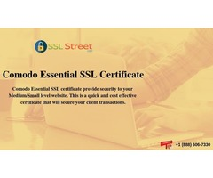 Comodo Essential SSL Certificates At $25.95 For 1 Year. Buy Now!