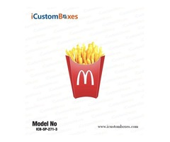 Get French Fries packaging Boxes at Wholesale Price