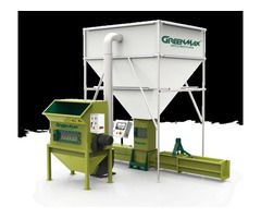 Styrofoam recycling compactor GREENMAX APOLO C300