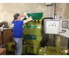 EPS screw compactor of GreenMax APOLO C100