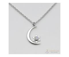 Moonstone Necklace - Serene Night - GSJ