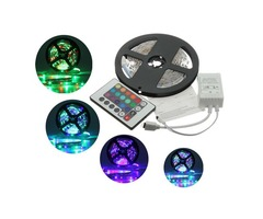 5M 3528 SMD RGB Non-Waterproof 300 LED Strip Light 12V DC