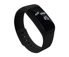UP8 Waterproof Wristband Support Heart Rate Monitor & Message Reminder Sport Smart Watch for App