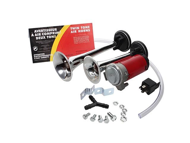 12V Dual Tone Trumpet Air Horn Compressor for ATV Boat Truck | free-classifieds-usa.com