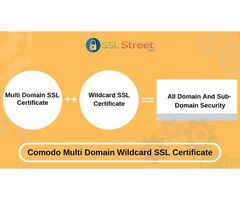 One Comodo Multi Domain Wildcard SSL Secure Your All Domain & Subdomains