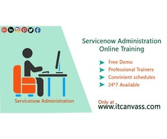 Servicenow Administration Training | servicenow course | ItCanvass