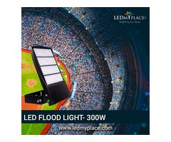 Install 300W LED Flood Lights For Better Outdoor Lighting