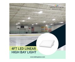 Attracting Customers By Used 4FT LED Linear High Bay Light