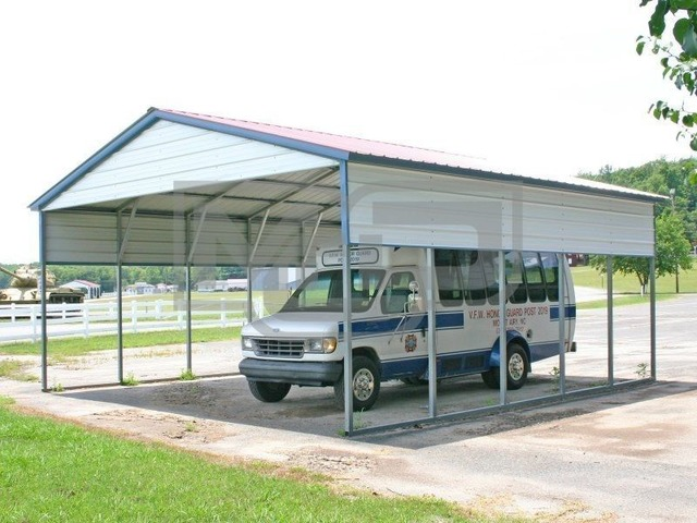 Purchase Galvanized Metal Carport Kits AT Metal Carports ...