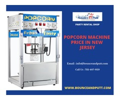 Popcorn Machine Price in New Jersey