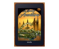"""Book """"A Grande Aventura"""" Portuguese Edition"""