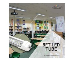 Install 8 Ft LED Tube Single Pin Give A Bright Light to Your Home | free-classifieds-usa.com