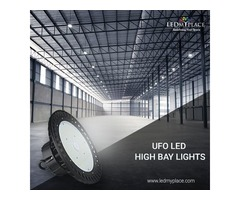 Why UFO LED High Bay Lights Are Perfect For The High Ceiling Places