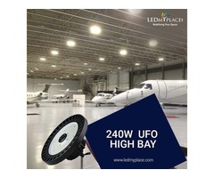 Excellent 240W LED UFO High Bay For Highest Saving Of Electricity