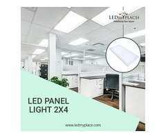 2x4 LED Panel Lights to Spread Lights At Plan Areas of the Home