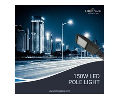 Install DLC Approved 150W LED Pole Lights At Discounted Price