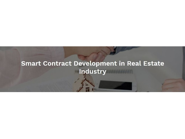 Get more benefits in Real Estate Industry with Smart Contract Development | free-classifieds-usa.com