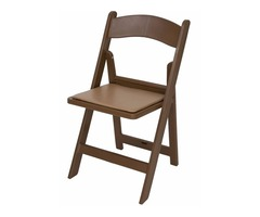 Wholesale Brown Resin Folding Chair