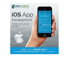Top Rated iphone App Development Company - Brain Technosys