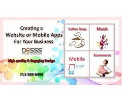 Website or mobile apps for small business