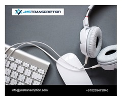 Professional High-Quality Transcription Service by JMS Transcription