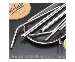 where to buy metal drinking straws of FDA approved