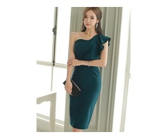 Raglan Sleeve Short Sleeve Womens Bodycon Dress