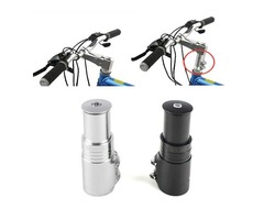 Bicycle Fork Stem Extender Bike Handlebar Riser Head Up Adapter