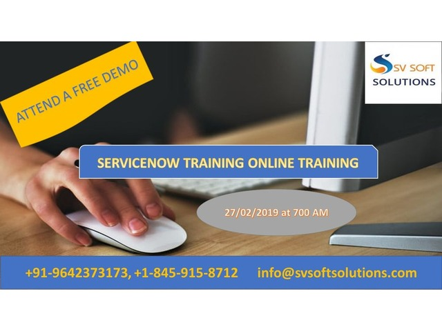 Servicenow Online Course Free Demo  | free-classifieds-usa.com
