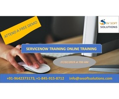 Servicenow Online Course Free Demo