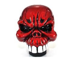 Universal Car Chrome Skull Gear Stick Shift Knob Lever | free-classifieds-usa.com