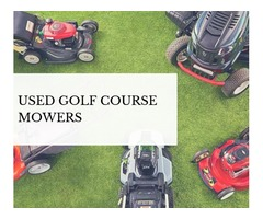Buy The Best Quality Used Turf Equipment