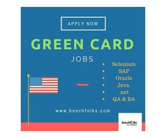 Explore Green card jobs for permanent employment