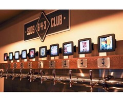 beer tap wall