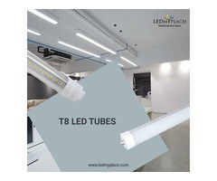 Change Florescent Tubes with The T8 LED Tubes