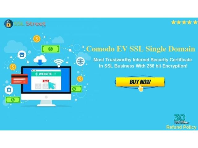 Secure Your Single Domain Website With Comodo EV SSL Single Domain Certificates | free-classifieds-usa.com