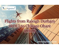 Online Flight Booking: Plan a Trip From RDU to Anywhere On Lowest Budget