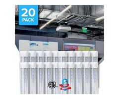 Get Energy Efficient 8ft LED Integrated Tubes For Brightness