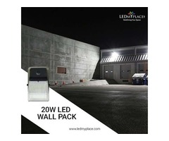 Install LED 20W Wall Pack to Have Absolutely Smoother Parking