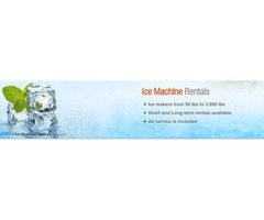 Commercial Ice Machine Rental Service in NJ