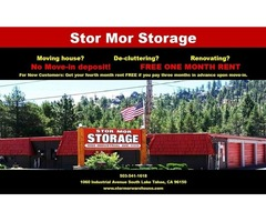 Rent Self-Storage Units Now and Get One Month Free!