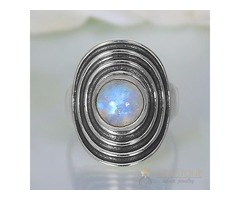 Moonstone Ring Moon's Myth