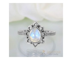 Moonstone Ring Worthy Spark-GSJ