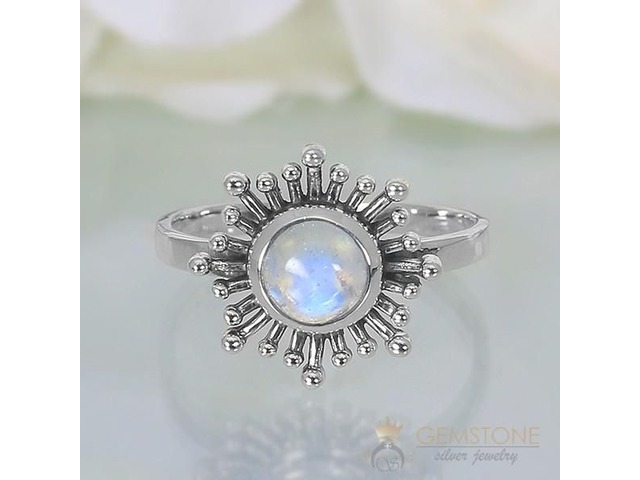 Moonstone Ring Soulful Sunrise-GSJ   free-classifieds-usa.com