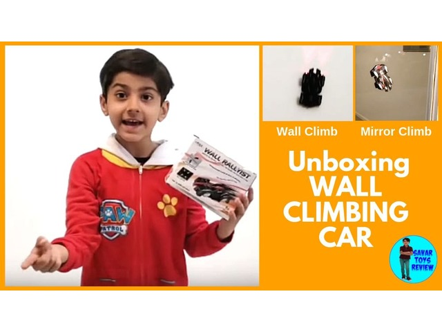 Awesome Wall Climbing Car Unboxing - Savar Toys Review | free-classifieds-usa.com