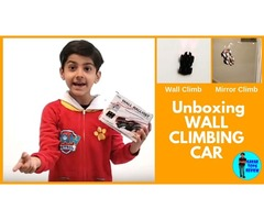 Awesome Wall Climbing Car Unboxing - Savar Toys Review